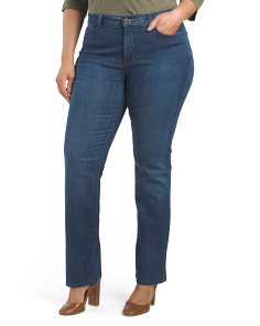 Plus Made In Usa Marilyn Straight Jeans