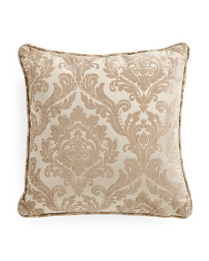 20x20 Neiman Damask Chenille Pillow
