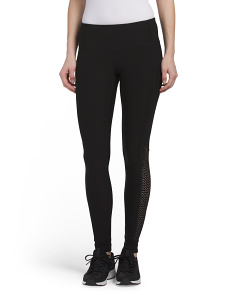 Perforated Side Panel Leggings