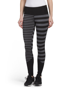 Striped Run Tights