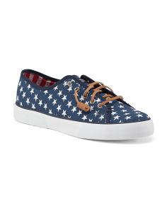 Pier View Stars And Stripes Canvas Shoes