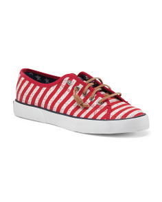 Pier View Striped Canvas Shoes