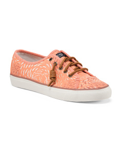Seacoast Fish Canvas Shoes