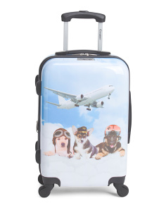 20in Pilot Print Hardside Carry-On