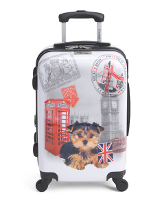 20in UK Puppy Hardside Carry-On