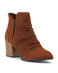 Wilson Perforated Low Booties