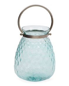 Made In India Honeycomb Glass Lantern