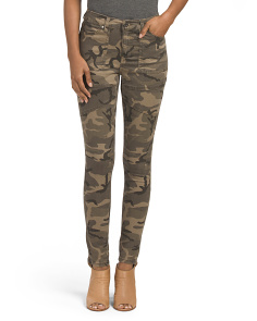 Juniors Camo Print Pants