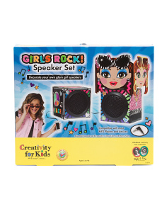 Girls Rock! Speaker Set