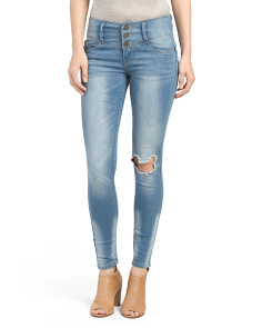 Juniors Triple Stack Jeans
