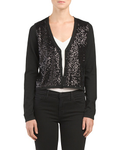 Sequin Front Shrug