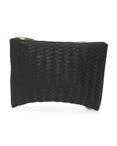 Crosby Woven Pouch
