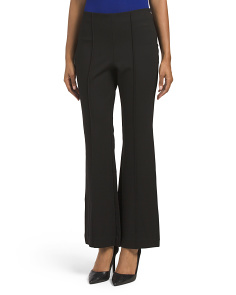 Juniors Ponte Flare Pants