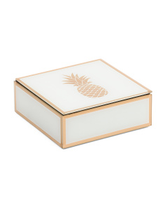 Pineapple Wooden Box