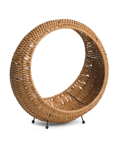 Natural Woven Magazine Basket