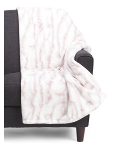 Marble Textured Throw