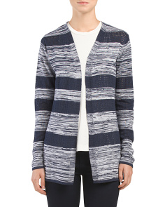 Broken Multi Stripe Cardigan