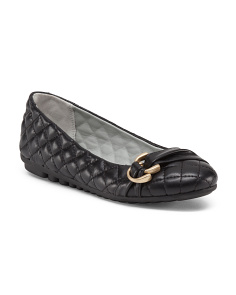 Quilted Ballet Flats