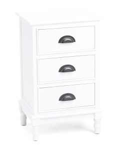 Three Drawer Storage Unit