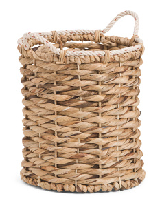Small Hyacinth Woven Basket