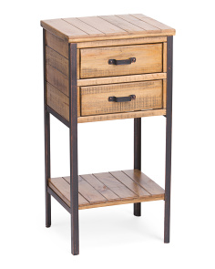 2 Drawer Accent Stand
