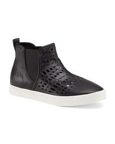 Perforated Side Gore Sneakers