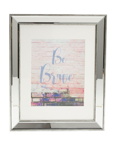 11x14 Distressed Mirrored Frame