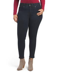 Plus Hi Rise Pencil Jeans