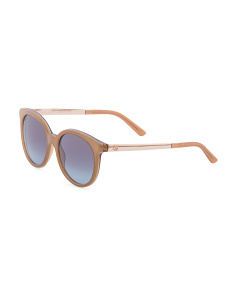 Made In Italy Luxury Round Sunglasses