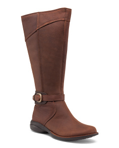 Buckle Up Waterproof Leather Boots