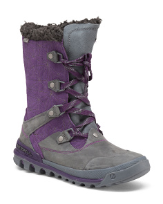 Silversun Lace Up Waterproof Boots