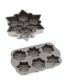 Frozen Snowflake Pan Set