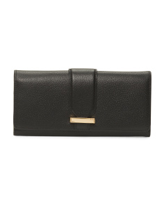 Leather Alix Trifold RFID Blocking Wallet