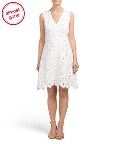 Jemion Embroidered Dress