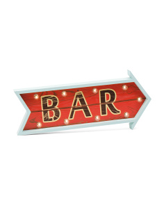 LED Bar Sign With Remote