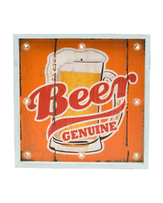 LED Beer Sign With Remote