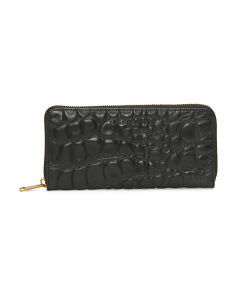 Lesley Leather Continental Wallet