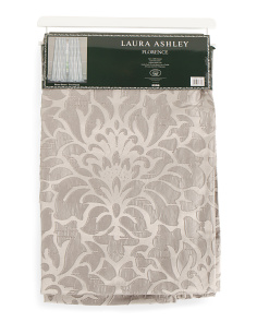 52x84 Textured Jacquard Set Of 2 Curtains