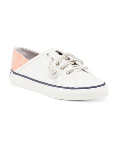 Seacoast Lace Up Canvas Sneakers