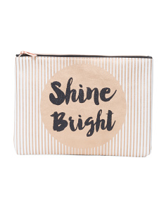Spotlight Shine Large Tech Pouch