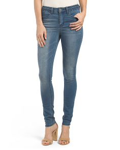 Juniors Braided Waist Jeans