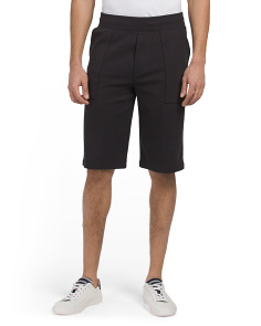 Pima Cotton Garment Wash Shorts