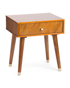 Cupertino 1 Drawer Side Table