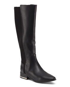High Shaft Back Stretch Boots