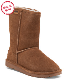 Suede Calgary Short Boots