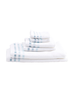 6pc Ombre Towel Set