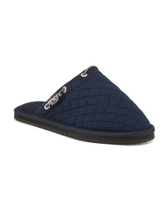 Jersey Quilted Slippers