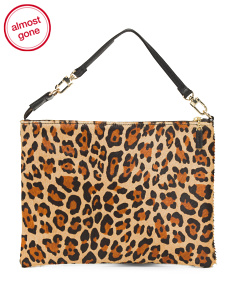 Made In USA Leopard Pouch