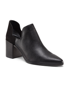 Uni Side Cut Out Low Booties