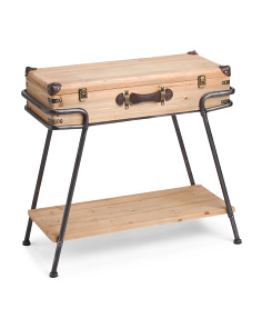 Fashion Trunk Storage Table
